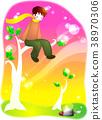 植樹節圖像,例證 38970306
