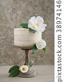 Naked wedding cake 38974146