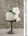 Naked wedding cake 38974148