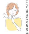 เจ็บคอหญิง 38975974