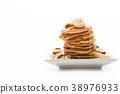 almond banana pancake 38976933