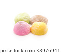 dessert mochi on white 38976941
