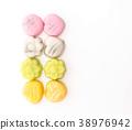 dessert mochi on white 38976942