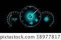 speedometer, tachometer, gauge 38977817