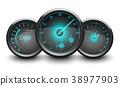 speedometer, tachometer, gauge 38977903