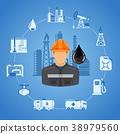 oil rig icon 38979560