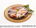 Ingredients for cooking pots Frozen fish 38980929