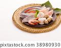 Ingredients for cooking pots Frozen fish 38980930