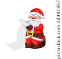 santa, claus, wish 38981867
