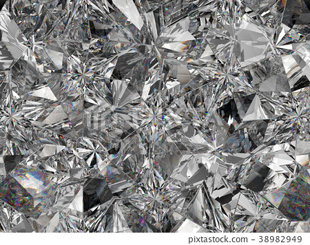 diamond structure extreme closeup and kaleidoscope 38982949