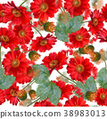 seamless   floral pattern 38983013