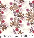 seamless floral pattern 38983015