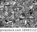 Gemstone structure extreme closeup kaleidoscope 38983132