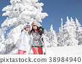 เล่นสกีสโนว์บอร์ดน้ำแข็ง 38984940