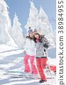 เล่นสกีสโนว์บอร์ดน้ำแข็ง 38984955