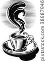 咖啡 饮料 喝 38987946