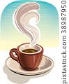 咖啡 饮料 喝 38987950