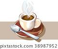 咖啡 杯子 杯 38987952