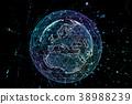network global earth 38988239