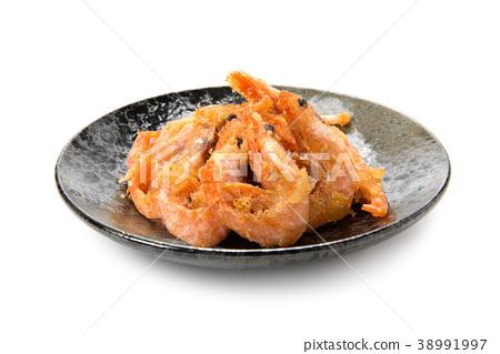 Sweet shrimp fried 38991997