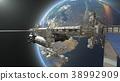 人造卫星 空间 宇宙的 38992909