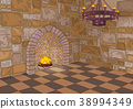 Castle Hall and Fireplace 38994349