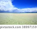 ท้องฟ้าเป็นสีฟ้า,เมฆ,มหาสมุทร 38997159