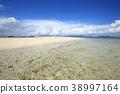 ท้องฟ้าเป็นสีฟ้า,เมฆ,มหาสมุทร 38997164