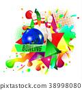 bowling sport vector 38998080
