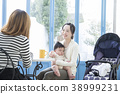 Cafe and children 38999231