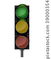 Traffic lights background 39000354