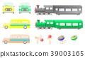 기관차, 일러스트, 배스 39003165