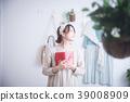 여성, 휴식, 상쾌한 39008909