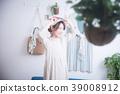 여성, 휴식, 인물 39008912