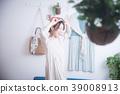 여성, 휴식, 일기 39008913
