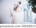 여성, 휴식, 자택 39008914