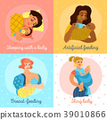Motherhood Icons Set 39010866