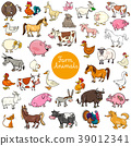 animals set character 39012341