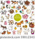 animals set character 39012343