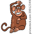 monkey, animal, character 39012349