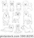 สัตว์,ภาพวาดมือ สัตว์,สัตว์เลี้ยง 39018295
