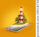 스마트폰, 핸드폰, 미술 39018739