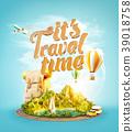 airplane, family, leisure 39018758