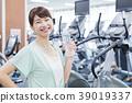 피트니스 체육관 여성 운동 39019337