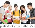 학생, 여성, 가방 39020553
