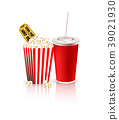 Popcorn, drink and tickets 39021930