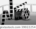 Film strip. Vector illustration 39022254