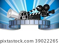 Cinema, movie, film and video media industry 39022265