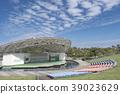 Kaiseisankoen Park Isuzu Lake Kaiseisan Amphitheatre ส่องประกายในท้องฟ้าสีครามสดใส 39023629