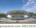 Kaiseisankoen Park Isuzu Lake Kaiseisan Amphitheatre ส่องประกายในท้องฟ้าสีครามสดใส 39023630